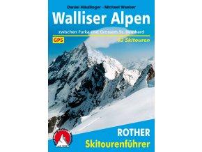 Walliser Alpen - skialpinistický průvodce