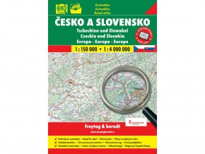 Česko a Slovensko - autoatlas