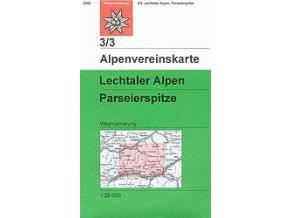 Lechtaler Alpen, Parseierspitze (letní) – AV3/3