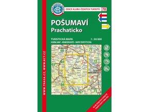 Pošumaví -  Prachaticko -  mapa KČT č.70