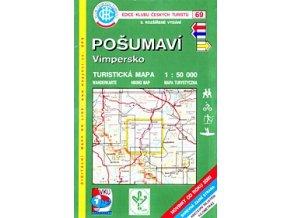 Pošumaví -  Vimpersko -  mapa KČT č.69