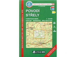 Povodí Střely -  mapa KČT č.30