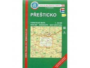 Přešticko -  mapa KČT č.32