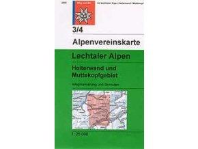 Lechtaler Alpen, Heiterwand, Muttekopf (letní) – AV3/4