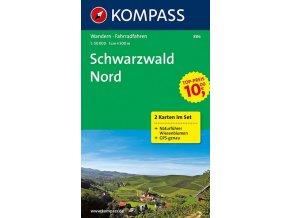 Schwarzwald Nord (set 2 map, Kompass - 886)