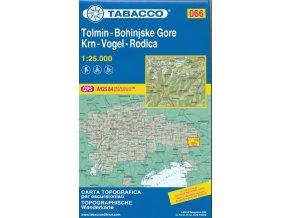 Tolmin, Bohinjske Gore, Krn, Vogel, Rodica (Tabacco - 066)