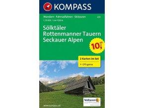 Sölktäler - Rottenmanner Tauern - Seckauer Alpen (Kompass - 223)
