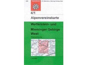 Wetterstein, Mieminger Gebirge West (letní) – AV4/1