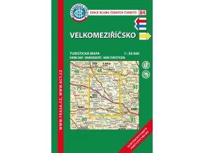 Velkomeziříčsko -  mapa KČT č.84