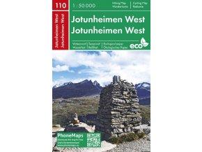 Jotunheimen západ