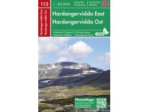 Hardangervidda východ