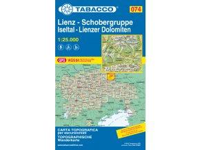 Lienz, Schobergruppe, Iseltal (Tabacco - 074)