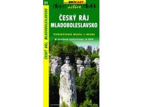 Českýráj,Mladoboleslavsko (turistická mapa č. 21)