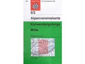 Karwendelgebirge, Mitte (letní) – AV5/2