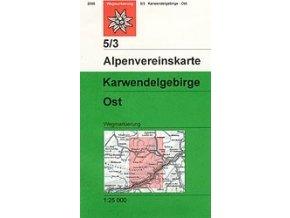 Karwendelgebirge Ost (letní) – AV5/3