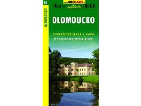 Olomoucko (turistická mapa č. 61)