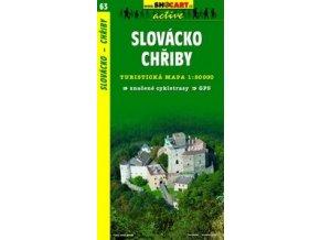Slovácko, Chřiby (turistická mapa č. 63)