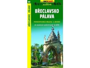 Břeclavsko,Pálava (turistická mapa č. 64)