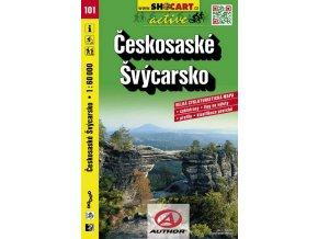 Českosaské Švýcarsko (cyklomapa č. 101)