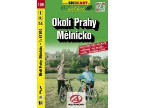 Okolí Prahy, Mělnicko (cyklomapa č. 109)