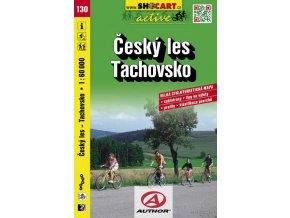 Český les, Tachovsko (cyklomapa č. 130)