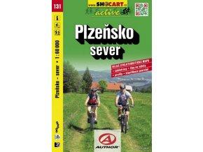 Plzeňsko, sever (cyklomapa č. 131)