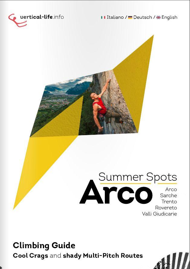 Arco Summer Spots - horolezecký průvodce