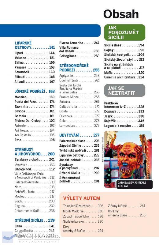 Svojtka Sicílie - průvodce Lonely Planet