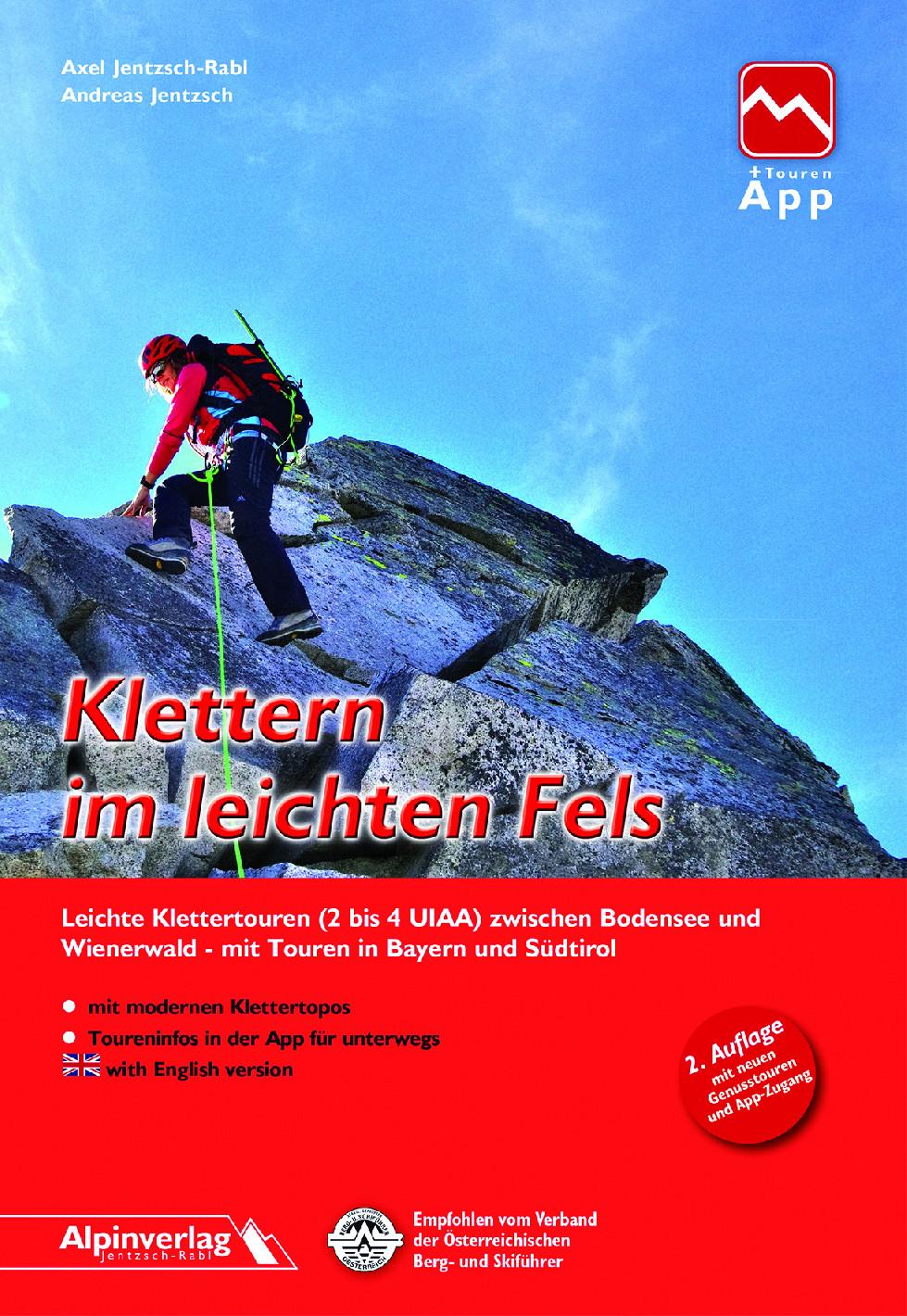 Klettern im leichten Fels - horolezecký průvodce