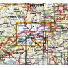 Krušné hory -  Teplicko -  mapa KČT č.6