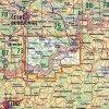 Novohradské hory -  mapa KČT č.74