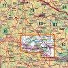 Podyjí -  Vranovská přehrada -  mapa KČT č.81