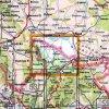 Rychlebské hory a Lázně Jeseník -  mapa KČT č.54