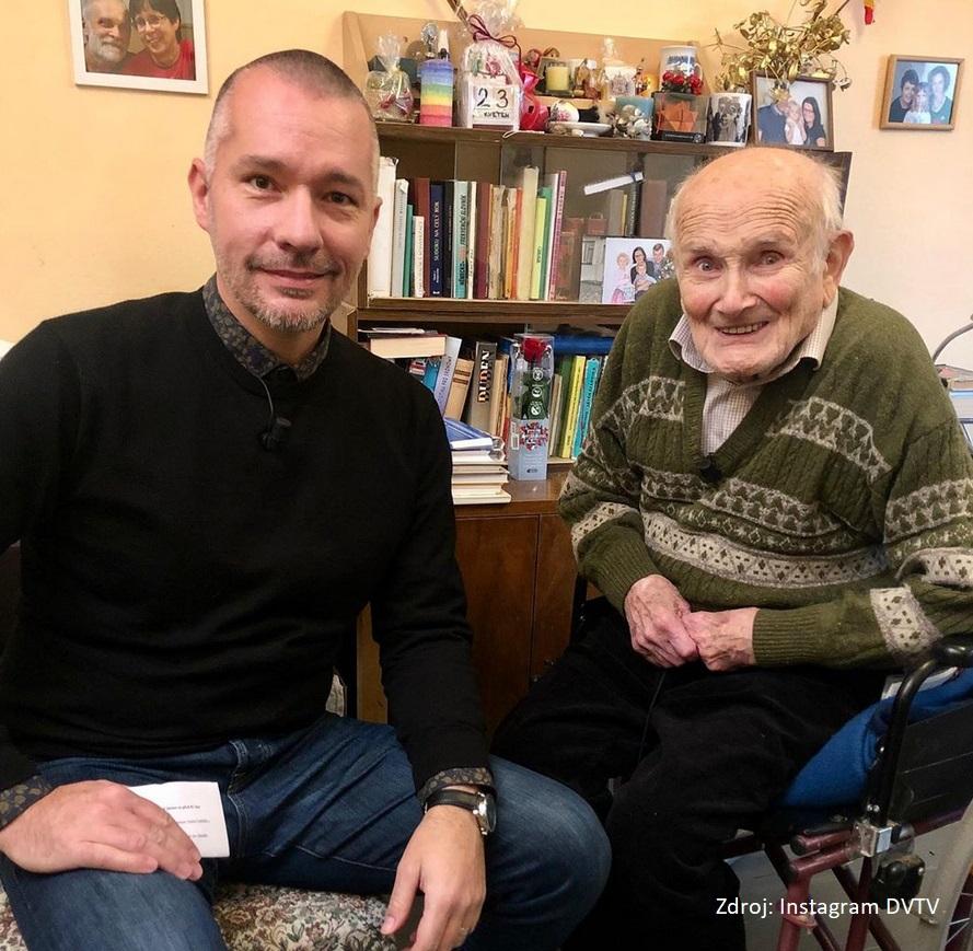 Jindra Hojer si popovídal s Martinem Veselovským v DVTV
