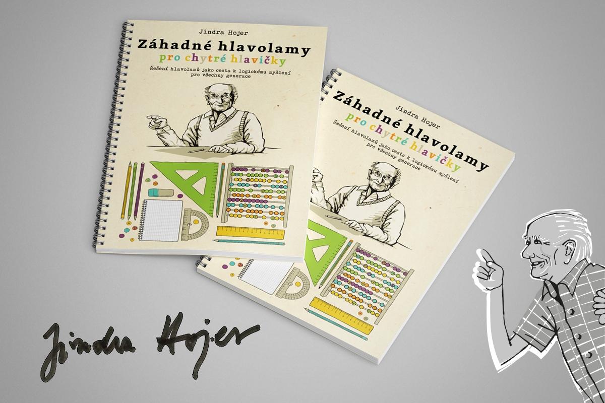 Jindra Hojer z Rychlých šípů vydá knihu hlavolamů