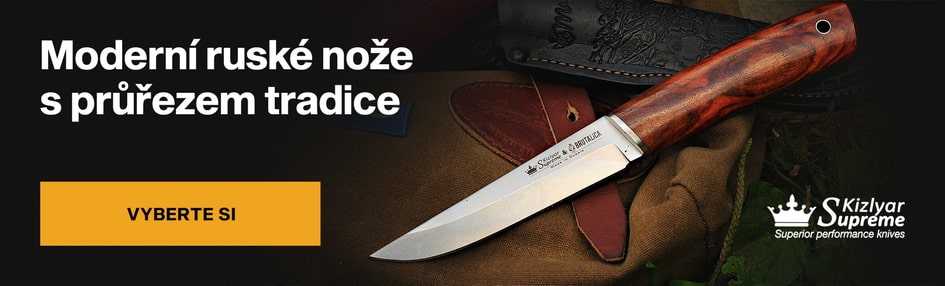 Ruské nože Kizlyar Supreme