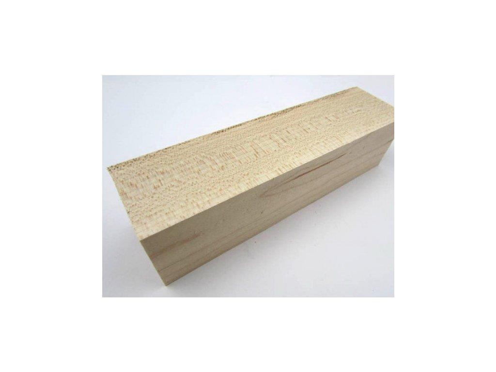 Dřevo Javor - Hard Maple