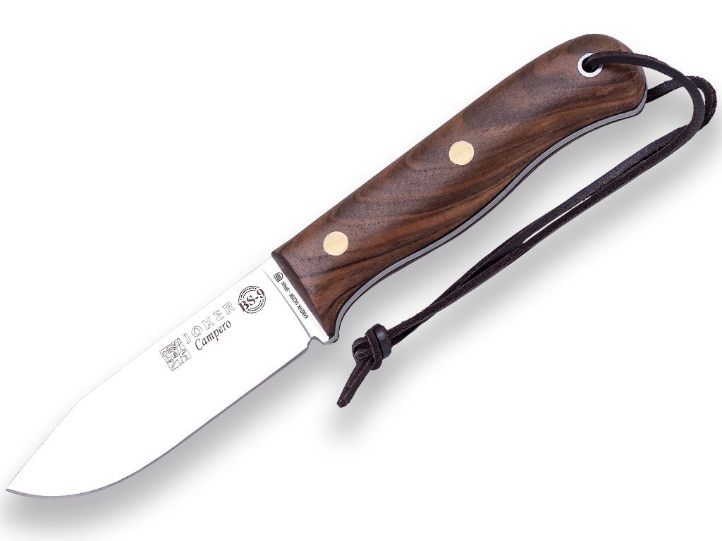 Nůž Joker BS9 Campero CN112-P Ořech, Sandvik 14C28N
