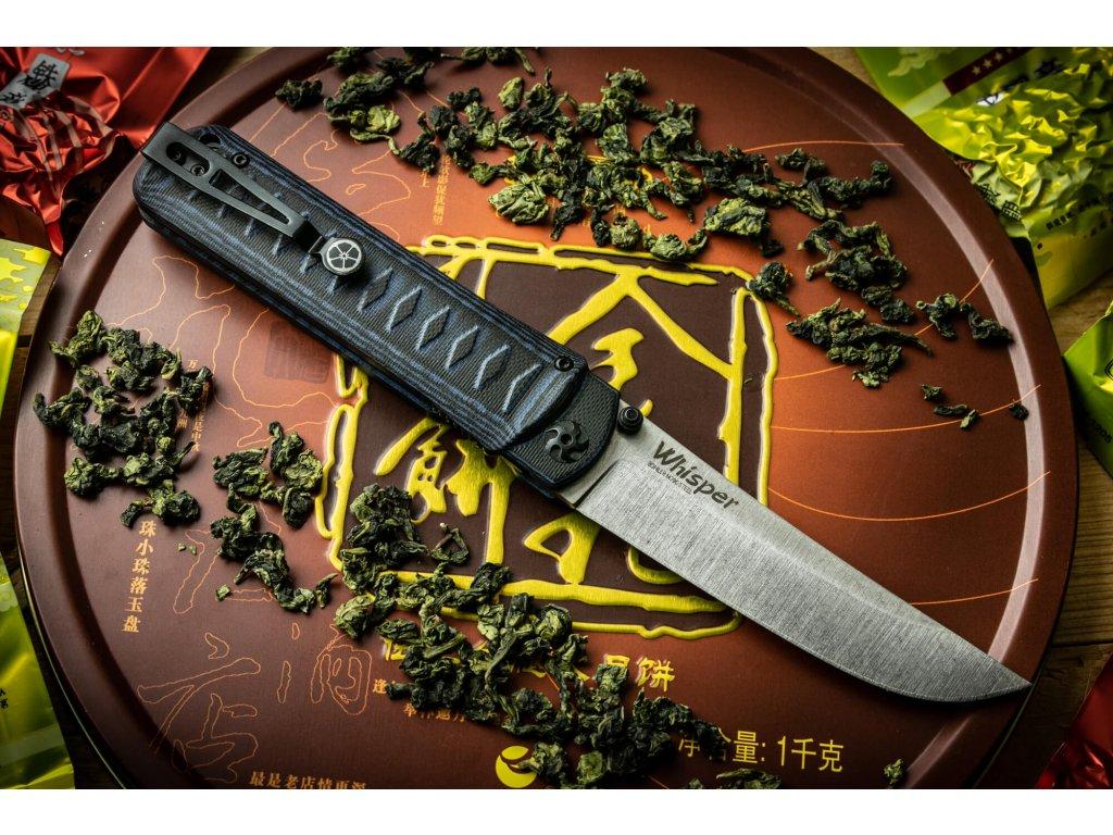 Nůž Kizlyar Supreme Whisper M390 S