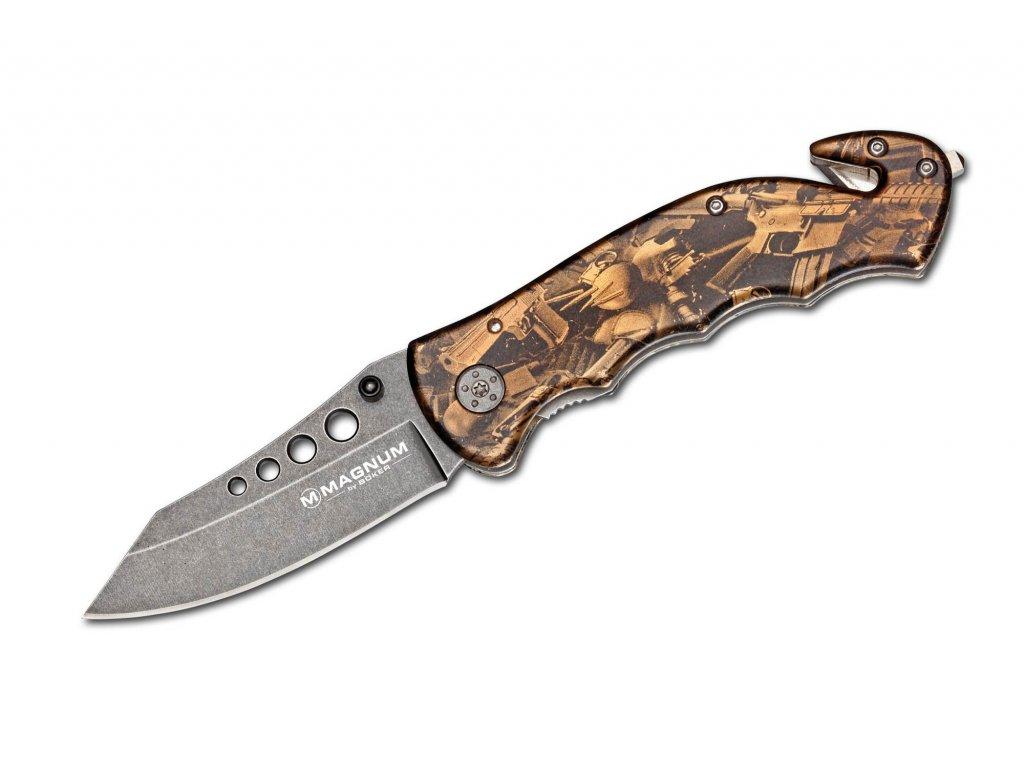 Nůž Magnum Bronze Rescue