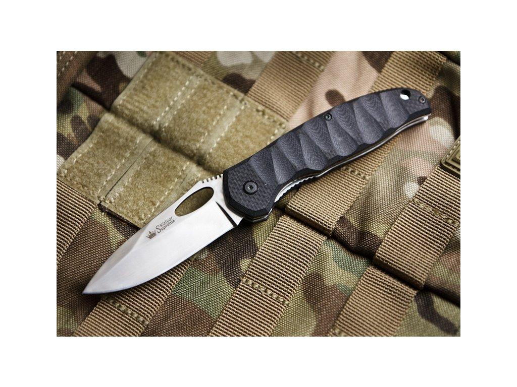 Nůž Kizlyar Supreme Hero 440C P