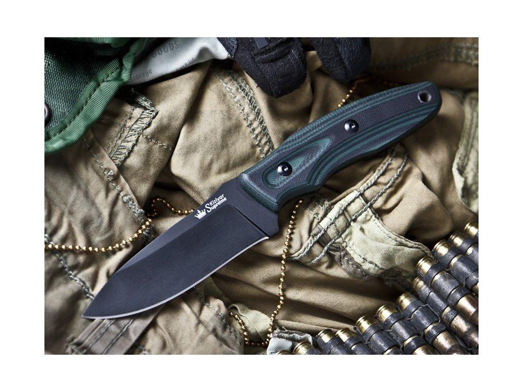 Nůž Kizlyar Supreme Urban Aus8 BT G10