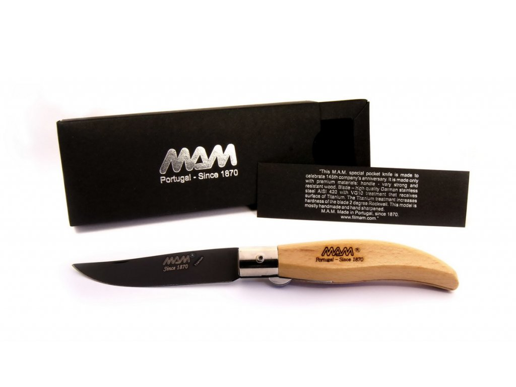 Nůž MAM Iberica Titanium 2018