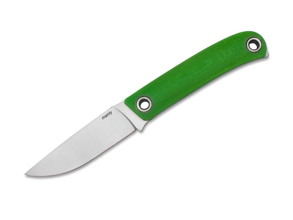 Nůž Manly Patriot Toxic Green CPM 154