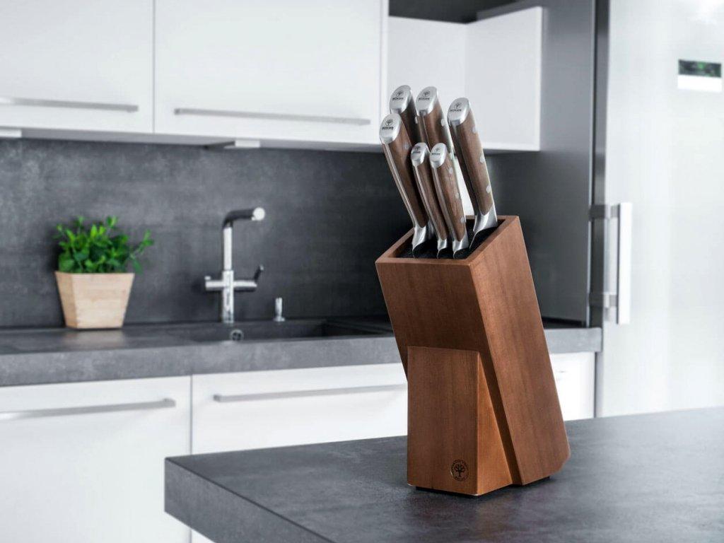 Sada Kuchyňských Nožů Böker Forge Wood