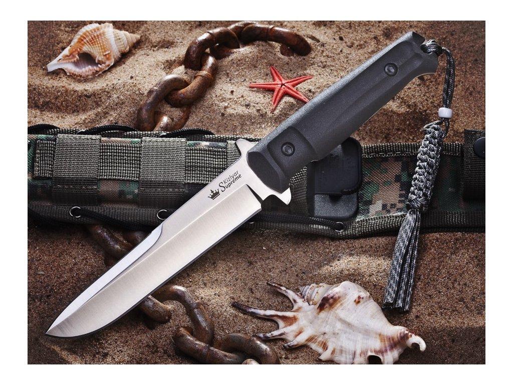 Nůž Kizlyar Supreme Trident D2 S + SW