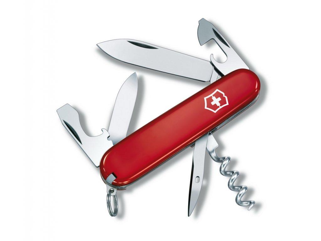 Nůž Victorinox Tourist červený