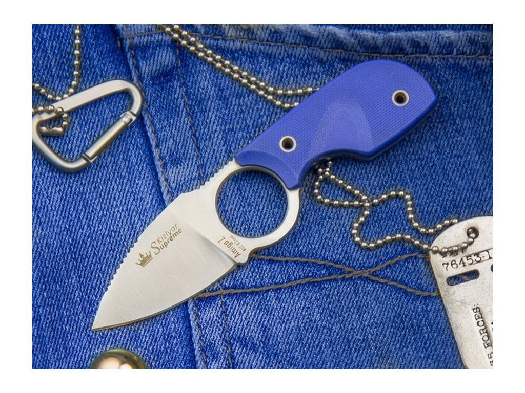 Nůž Kizlyar Supreme Amigo Z AUS-8 S BLUH
