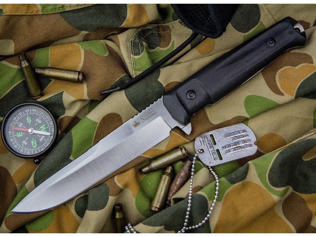 Nůž Kizlyar Supreme Alpha AUS-8 LSW