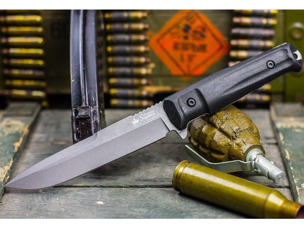 Nůž Kizlyar Supreme Alpha AUS-8 TacWash